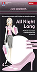 All Night Long -Mini cushions